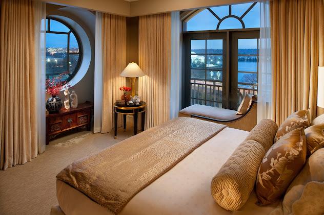 Đẹp như phong cách phương Đông cho phòng ngủ