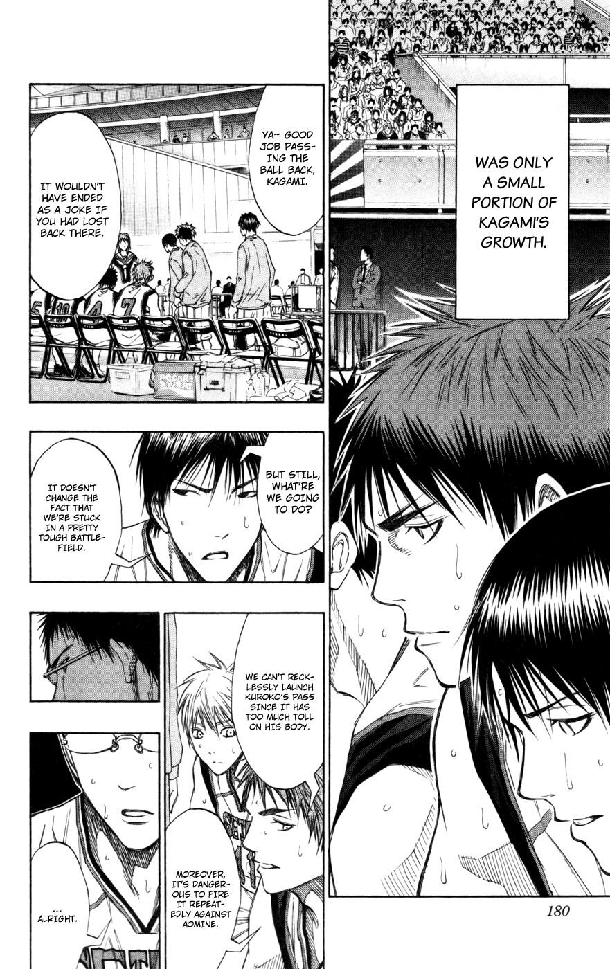 Kuroko no Basket Manga Chapter 117 - Image 3_180