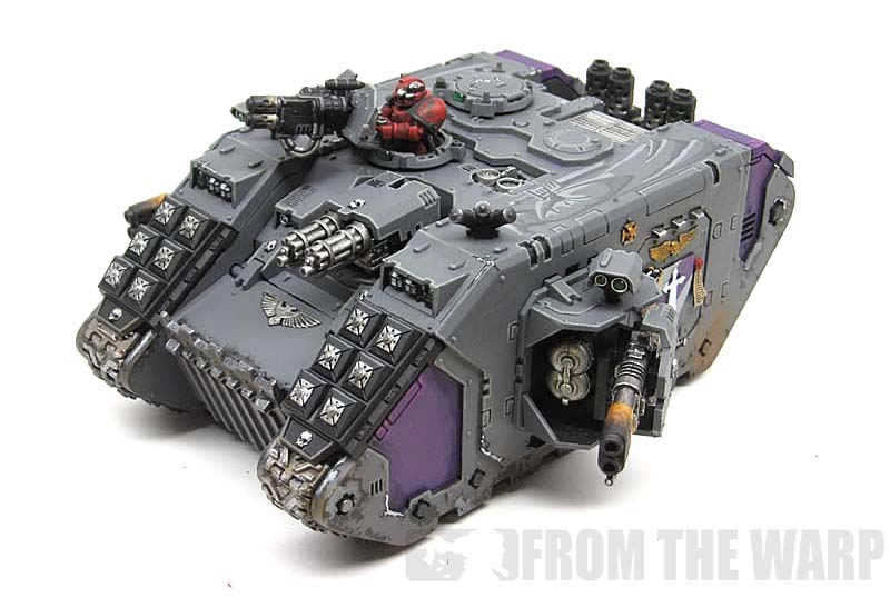 From the Warp: Space Marine vehicles and their crews