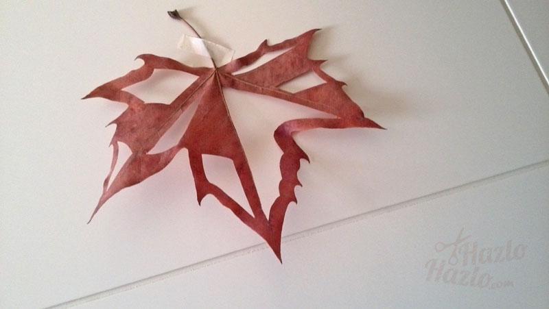 Cómo cortar hojas secas