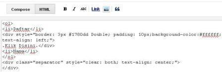 cara membuat kotak script di blog