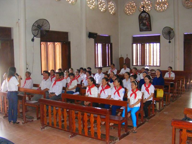 Khóa huấn luyện Huynh Trưởng Cấp I cho Anh chị em Giáo lý viên Giáo xứ Đất Sét