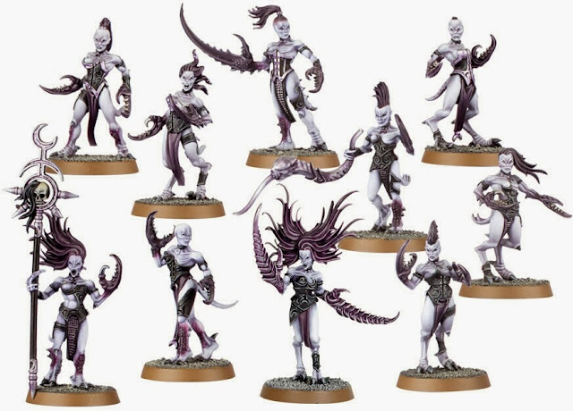 Diablillas de Slaanesh Games Workshop