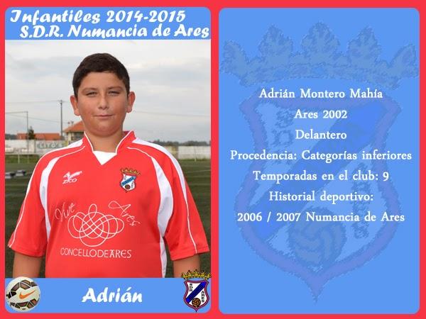 ADR Numancia de Ares. ADRIAN.
