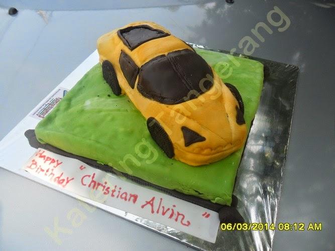 Kue Ulang Tahun Lamborghini Graha Raya