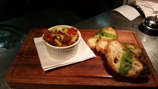 Dish from the best restaurant in Dublin