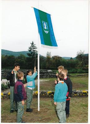 zászlóavatás 1999