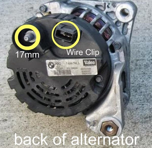 e46 m3 alternator replacement diy bmw e46 m3 support rh m3support net bmw e36 alternator wiring bmw alternator wiring diagram