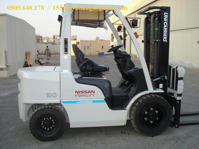 Xe nâng diesel Nissan Unicarriers 1.5 - .5 tấn