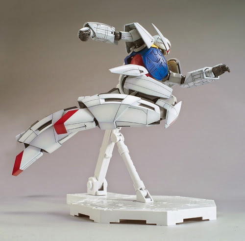 WD-M01 Turn A Gundam MG 1/100 cho phép tái tạo bất kỳ cảnh nào của trận chiến