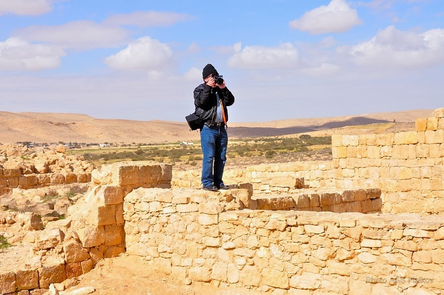 Фоторепортаж: гид Светлана Фиалкова, экскурсия в Негев, национальный парк Мамшит. На руинах Мамшита.