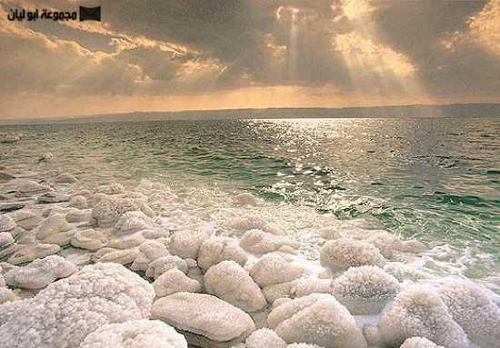 عجائب الدنيا السبع الطبيعية Dead_sea_sunset