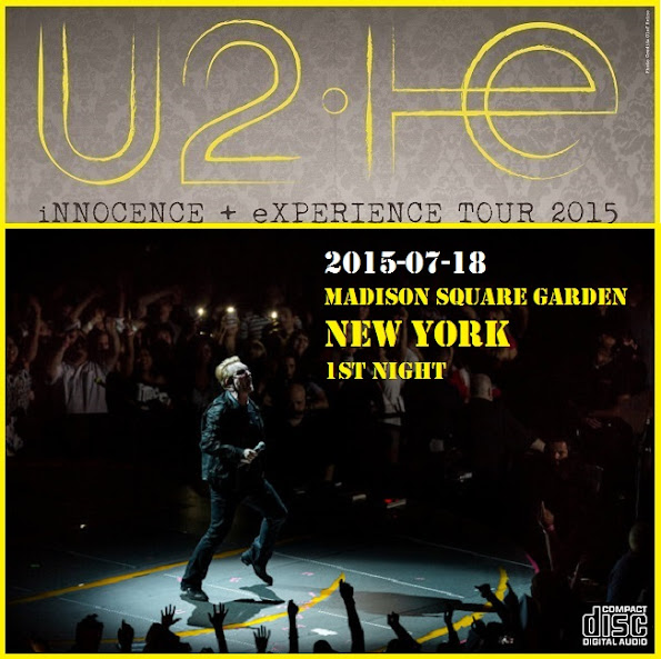 01 the miracle of joey ramone 02 the electric co 03 vertigo 04 i will follow 05 banter 06 iris hold me close 07 cedarwood road 08 song for someone - U2 At Madison Square Garden