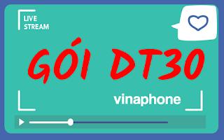 Nhận 7GB sử dụng trong 7 ngày cực rẻ Gói DT30 Vinaphone