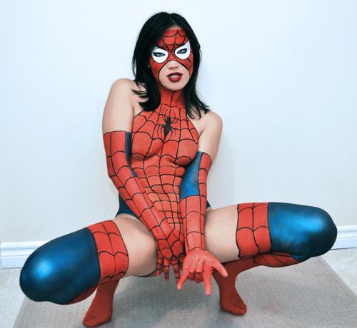 Tuyển tập một số cosplay Spider Girl cực quyến rũ - Ảnh 8