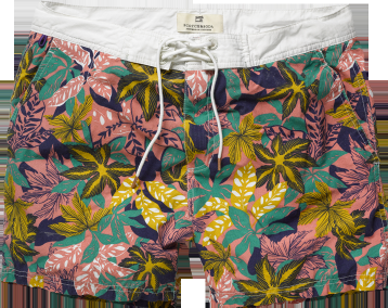 Inspired by Sun, Surf, and Señoritas: Board Shorts