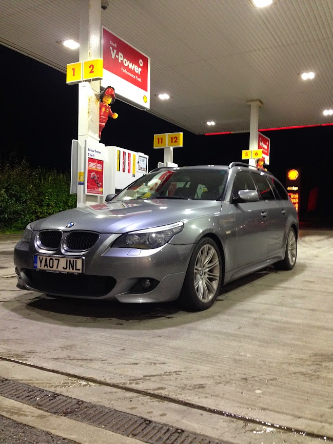e61 BMW 530d Touring in spaced grey