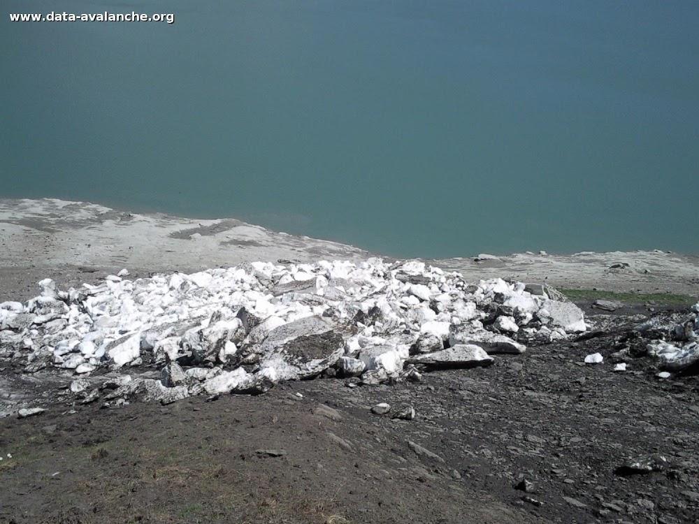 Avalanche Haute Maurienne, secteur Col du Mont Cenis, Cime du Laro - Photo 1