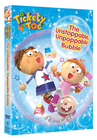 Tickety Toc DVD The Unstoppable, Unpoppable Bubble