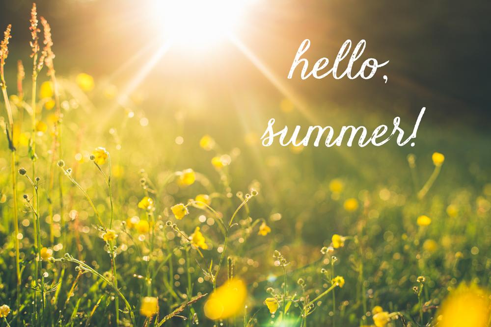 Ảnh xin chào Mùa Hạ - Hello Summer