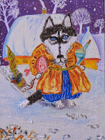Wolf Husky dog Ukraine tale
