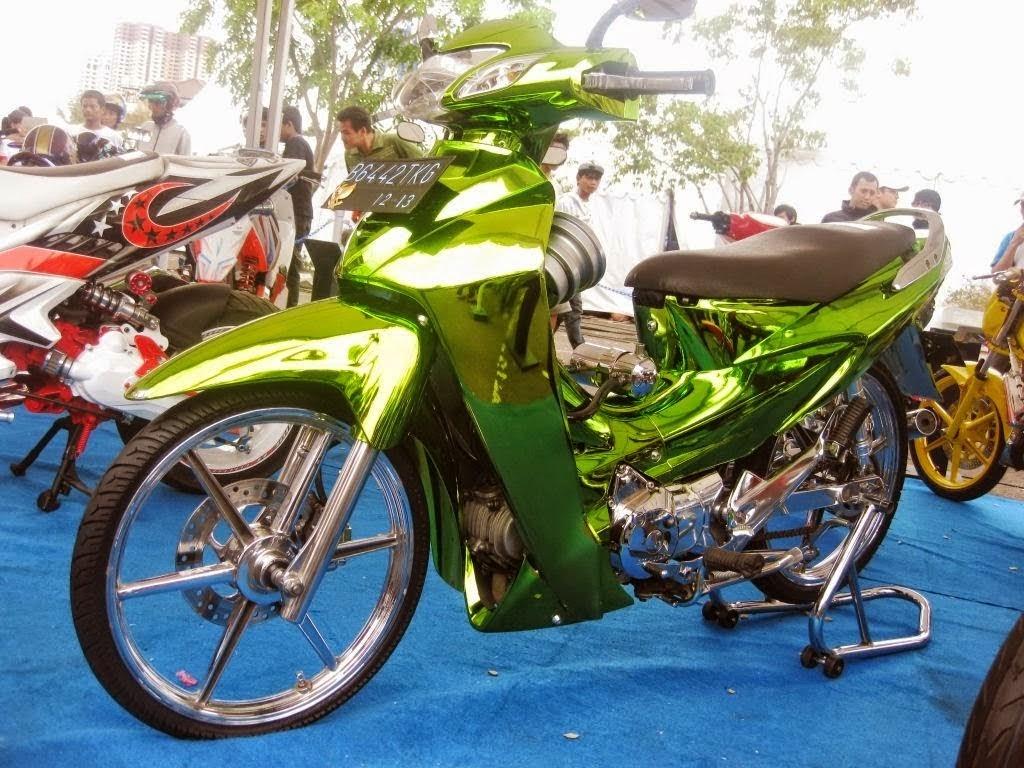 Modifikasi Honda Karisma Terbaru