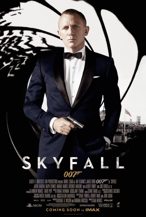 Poster Of Skyfall (2012) Full Movie Hindi Dubbed Free Download Watch Online At Alldownloads4u.Com