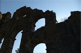 Acueducto romano de Aspendos