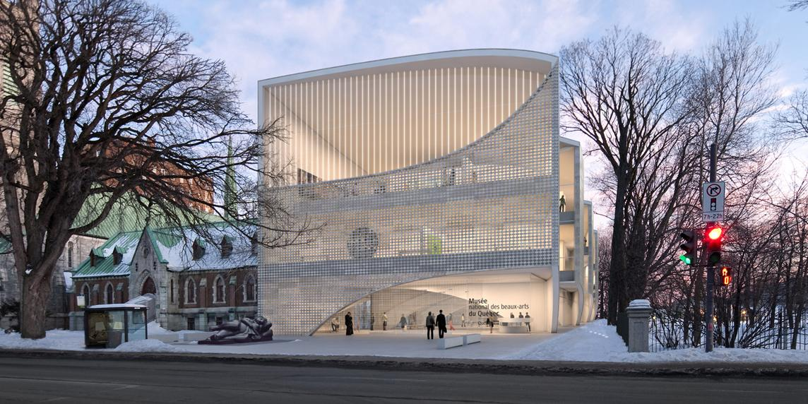 Musée National des Beaux-Arts du Québec design by Allied Works Architecture