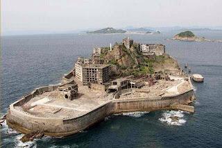 007 Skyfall Hashima Island in Japan - Not Thailand