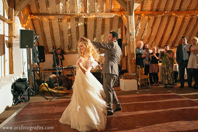 Wedding at Fitzleroi Barn