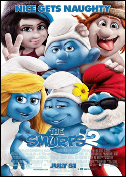 9 Download Os Smurfs 2 AVI  Dublado Torrent