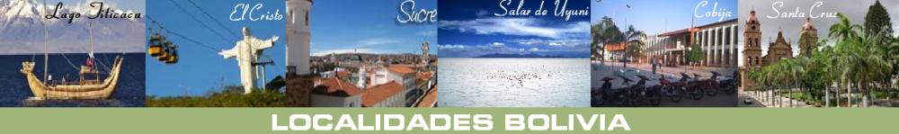 ..:: LOCALIDADES BOLIVIA :..