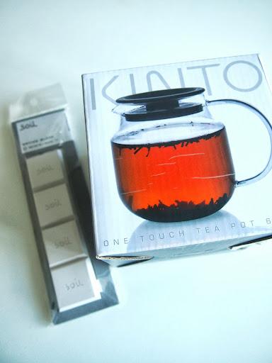 KINTOのティーポットでおいしい紅茶を