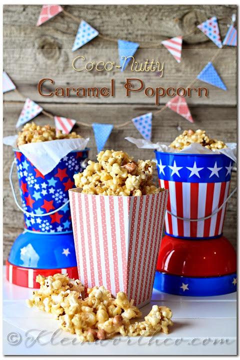 Coco Nutty Caramel Popcorn