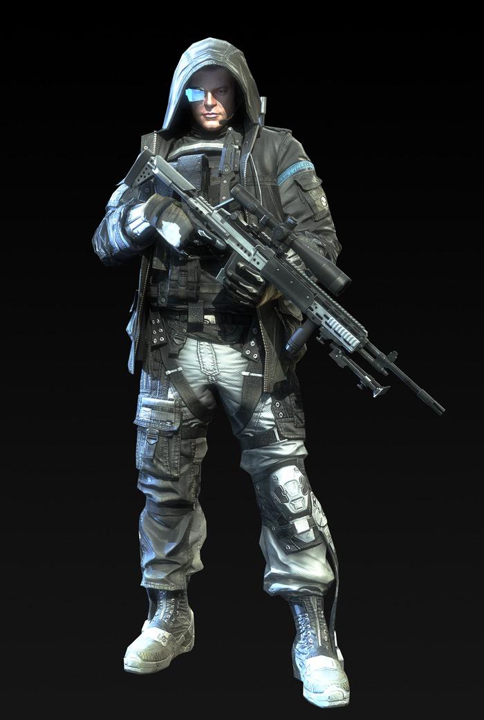Tạo hình nhân vật trong Metro Conflict - Ảnh 3