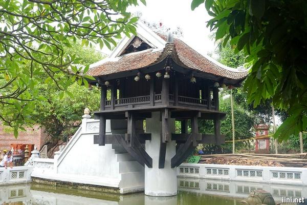 chùa Một Cột - Hà Nội