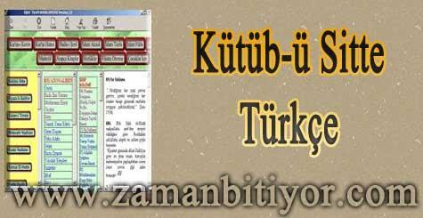 Kütübü Sitte Türkçe Hadis Kitabı İndir