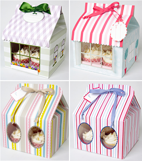 Customized Cupcake Boxes