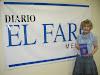 PEntrevista en el periódico El Faro de Melilla