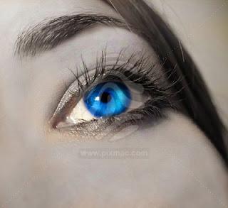 Elizabeth Taylors eye