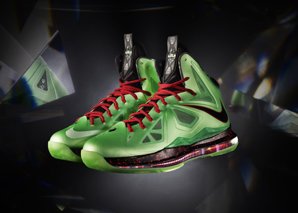 Nike LeBron X Cutting Jade China Edition and its Special Package