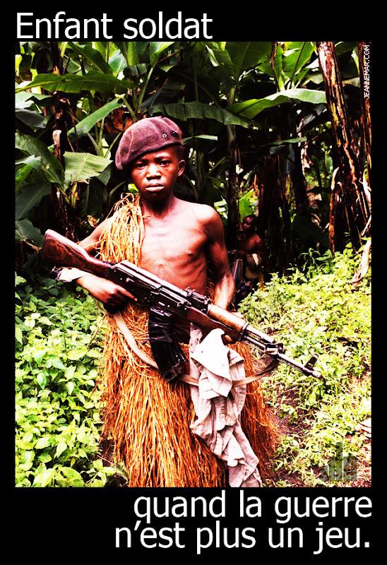 Enfant soldat, quand la guerre n'est plus un jeu. Jean Némar!