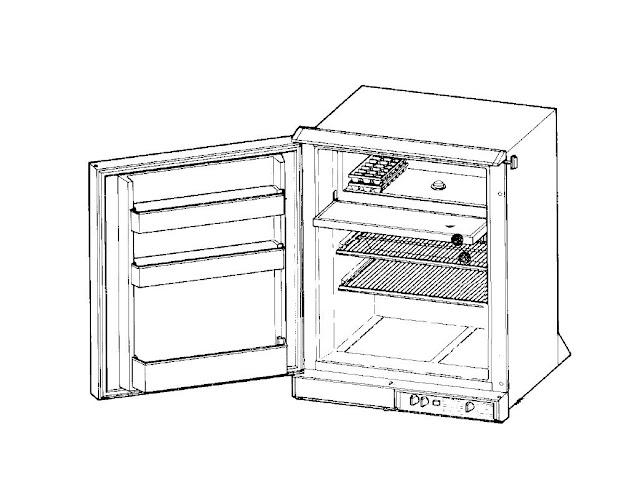 instamatic rv motorhome refrigerator manual set w servi