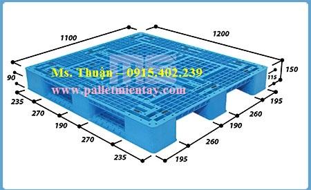 Pallet nhựa Malaysia EN4-1211
