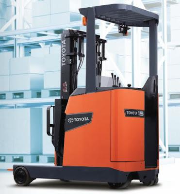 Xe nâng điện đứng lái 1.5 tấn Toyota 0934172768