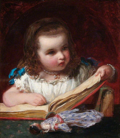 James Sant - A Girl Reading