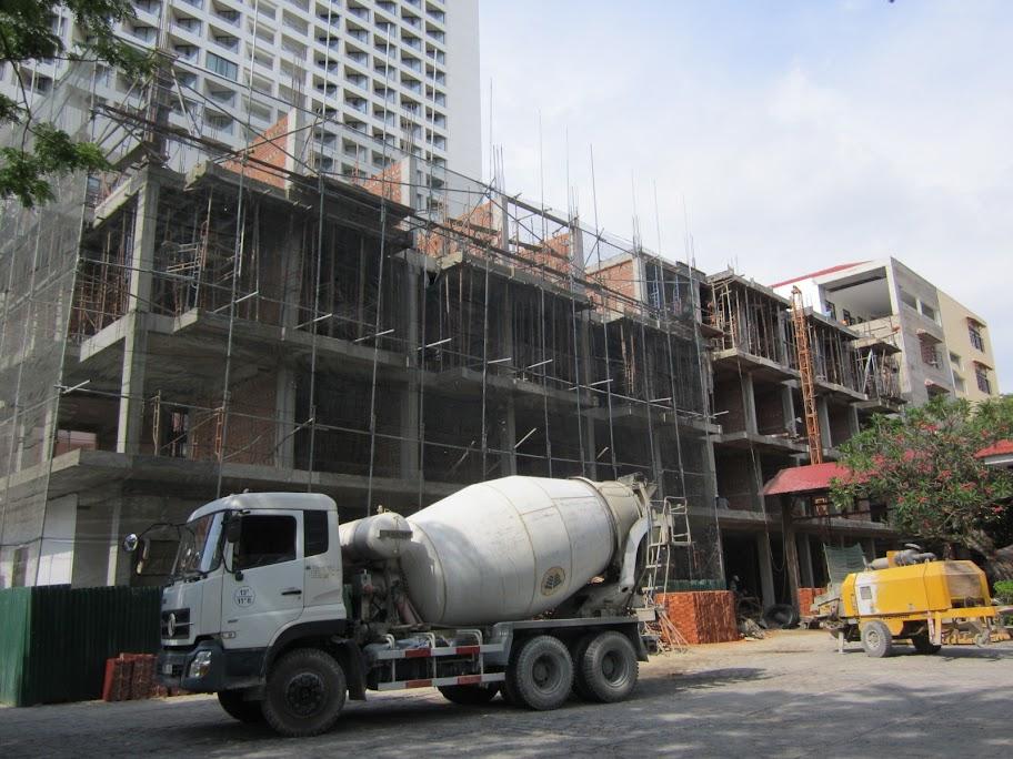 Chùm ảnh công trình xây dựng Trung Tâm Mục Vụ Giáo phận Nha Trang