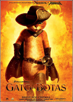 Download Gato de Botas Dublado BRRip 2011