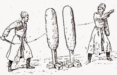 Рубка глиняного чучела: фехтование в русской кавалерии